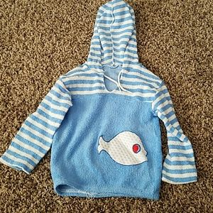 Other - Terry Hoodie Baby Size Medium